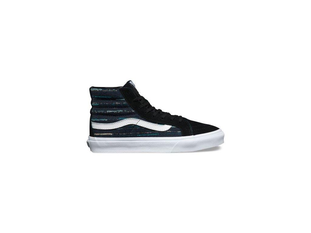 VANS - obuv STR U SK8-Hi Slim black/multi