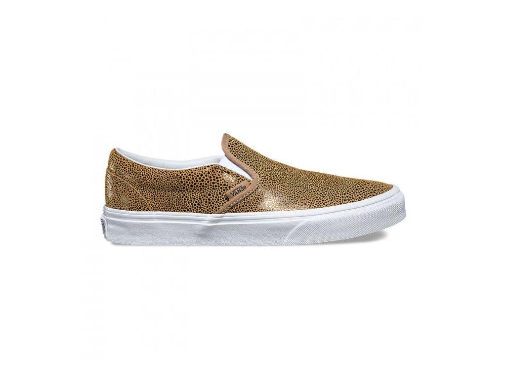 Vans  obuv  U CLASSIC SLIPON (EMBOSSED STING) gold/brown