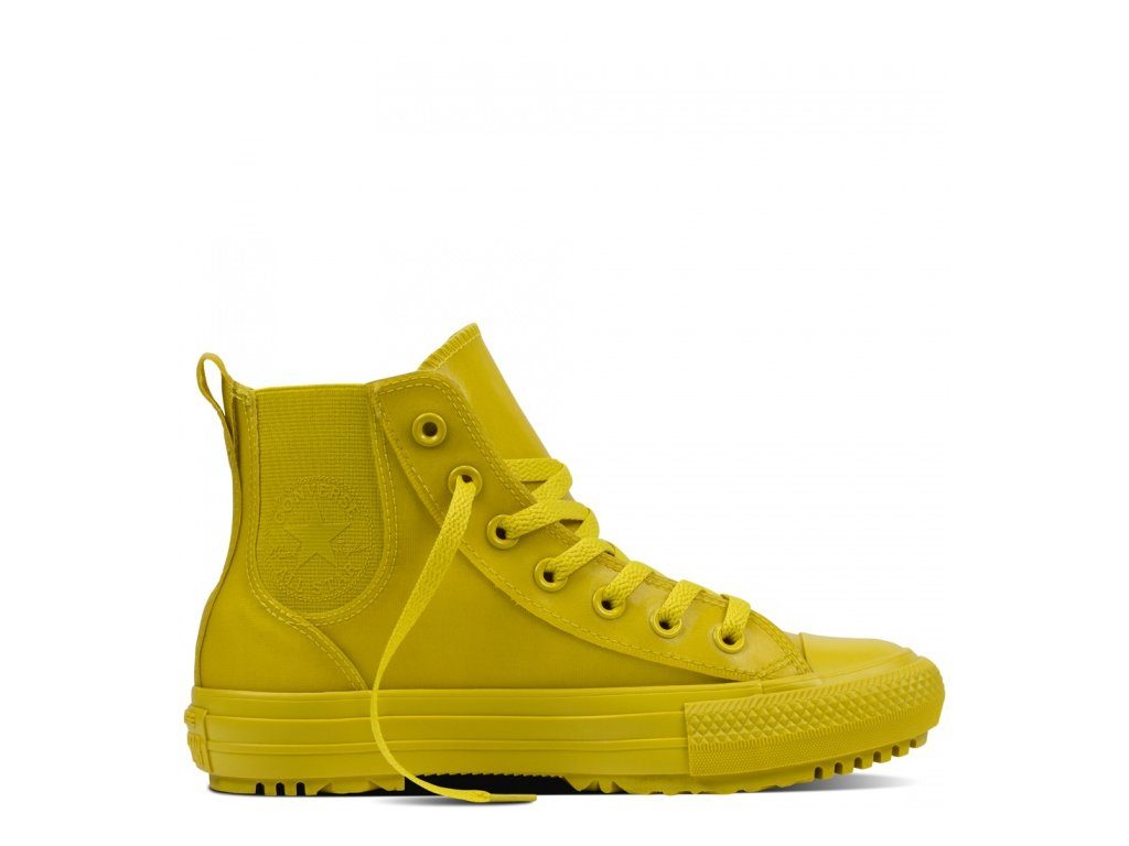 CONVERSE - obuv STR CHUCK TAYLOR AS CHELSEA BOOT bitter lemon