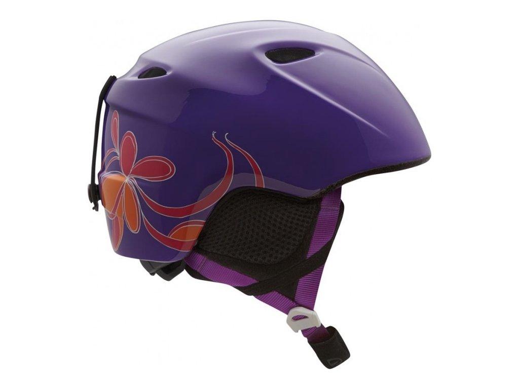 prilba GIRO SLINGSHOT *13 purple whirl