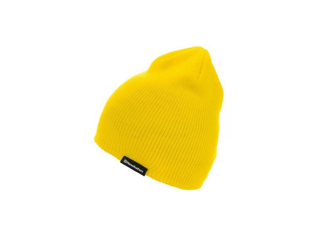 Horsefeathers - čiapka YARD BEANIE yellow