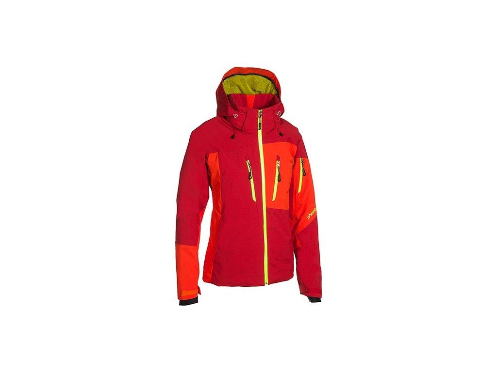 PHENIX - bunda Z Mush II Jacket W dark red