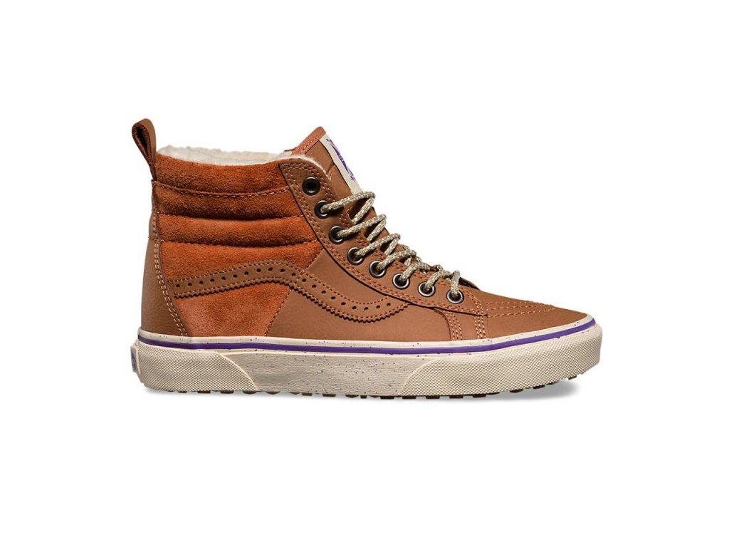Vans  obuv  UA SK8Hi 46 MTE (Hana Beaman) brown/angora 4.5 16/17