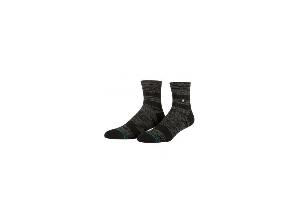 STANCE - ponožky  MISSION LOW  BLACK