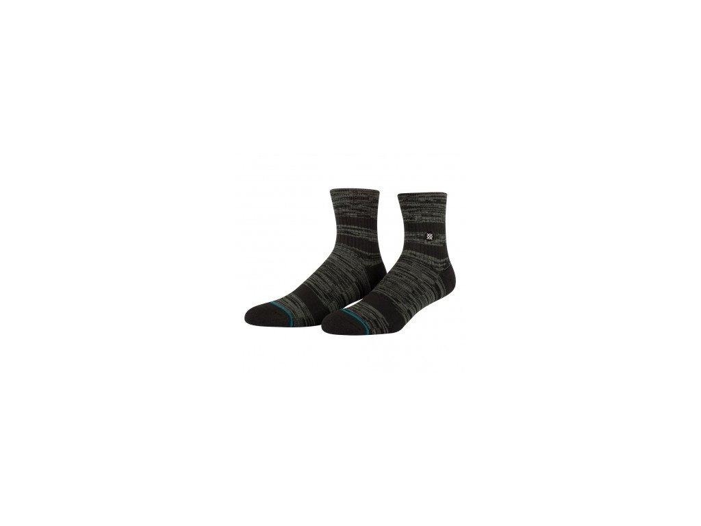 Stance ponožky  MISSION LOW  BLACK