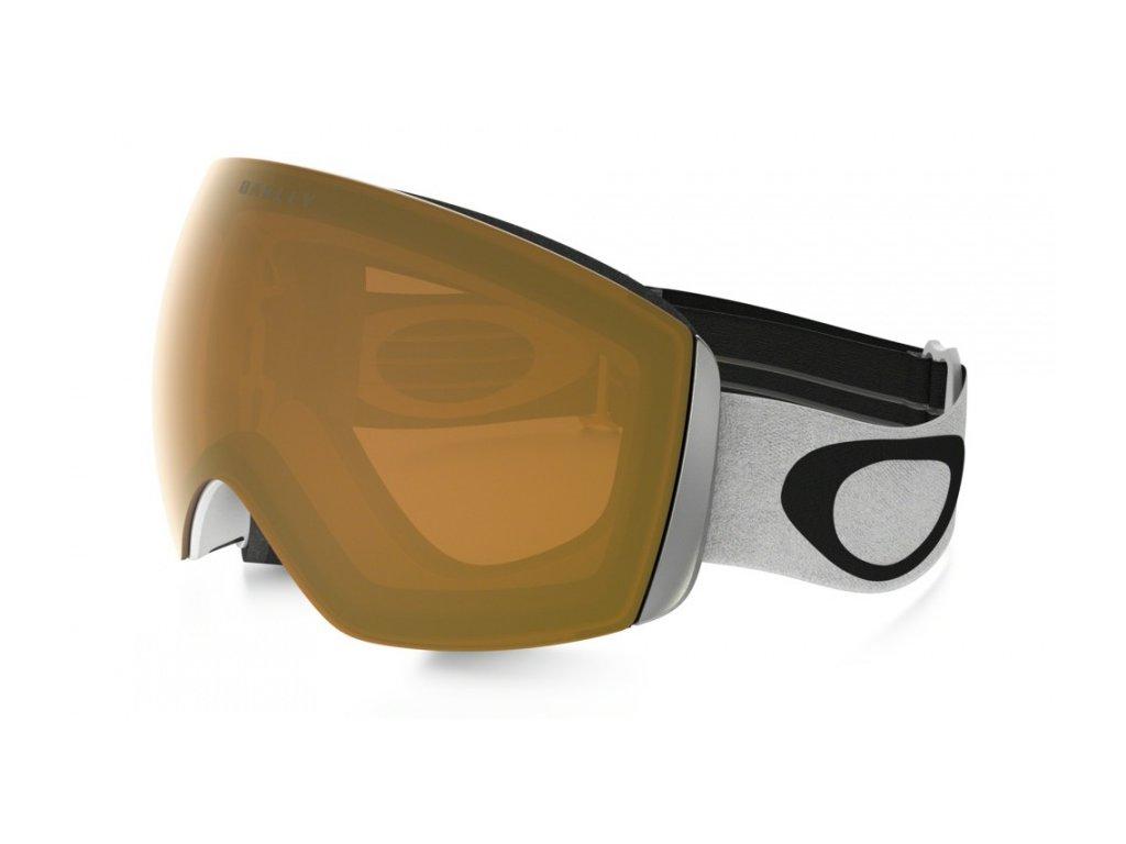 Oakley - okuliare L FLIGHT DECK Matte White/Persimmon