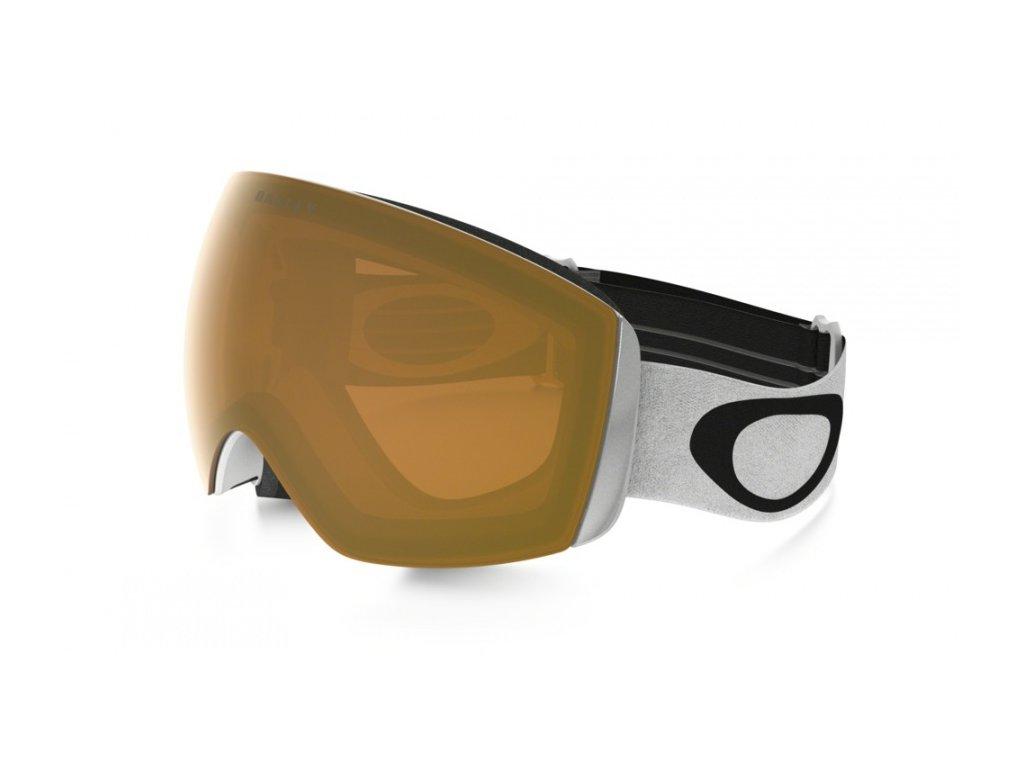 OAKLEY - okuliare L FLIGHT DECK XM Matte white/Persimmon
