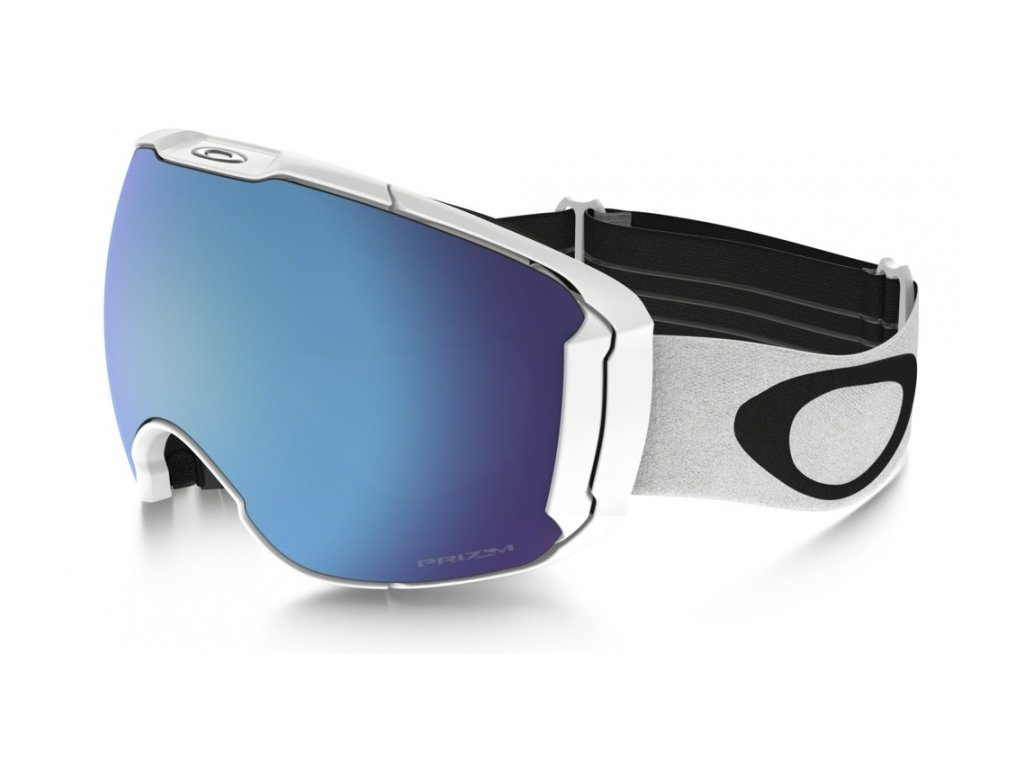 Oakley - okuliare L AIRBRAKE XL PRIZM Polished White/Prizm Snow Sapphire Iridium