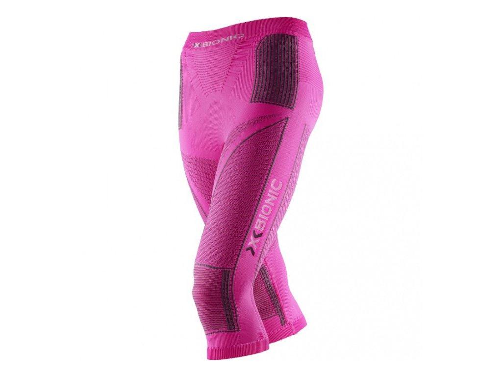 X-Bionic - nohavice T LADY Energy Accumulator® Evo Medium Pants pink