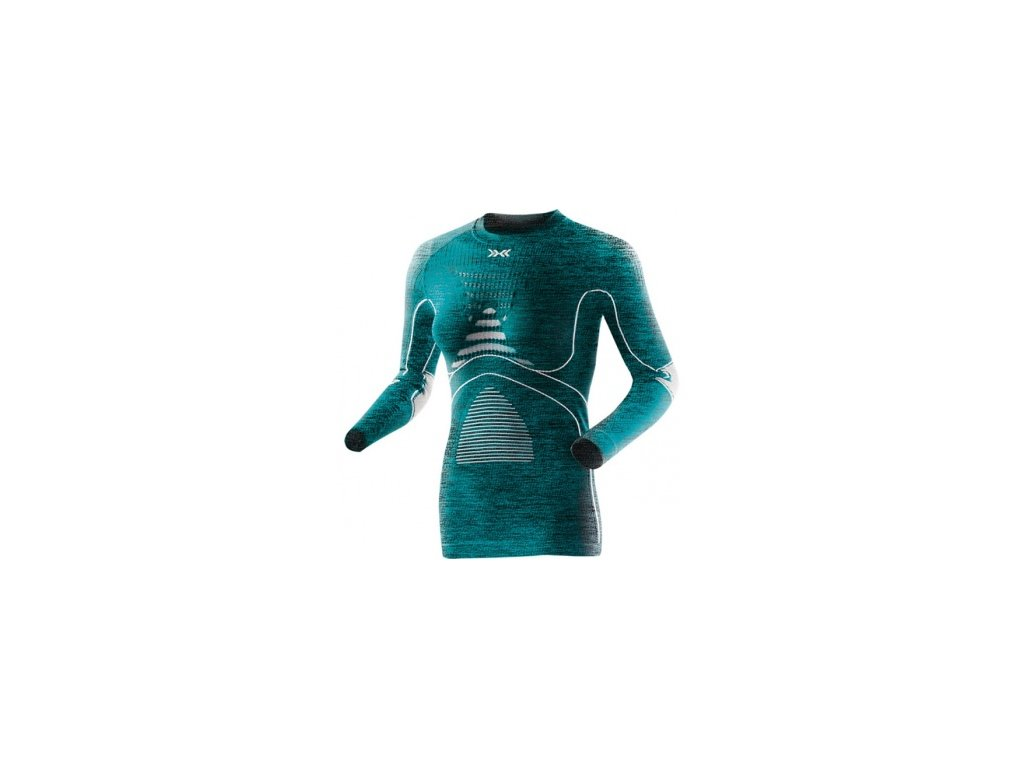 X-Bionic - tričko T LADY Energy Accumulator® EVO Melange lake blue
