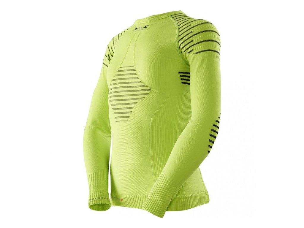 X-Bionic - tričko T JUNIOR INVENT UW SHIRTS lime