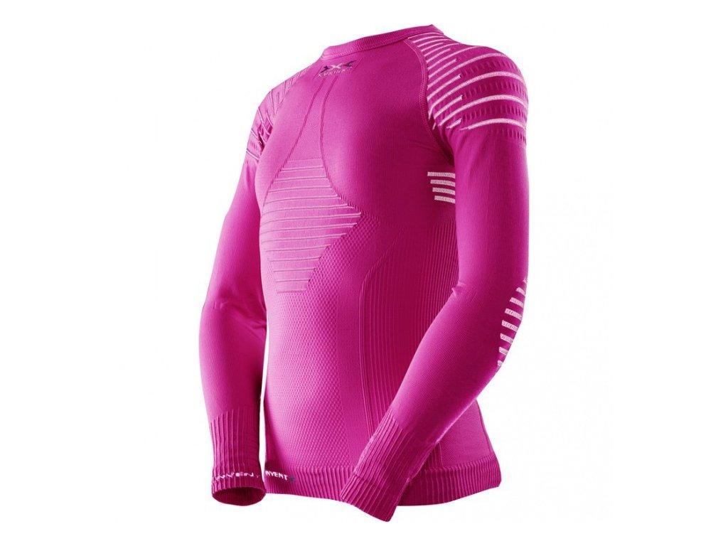 X-Bionic - tričko T JUNIOR INVENT UW SHIRTS pink