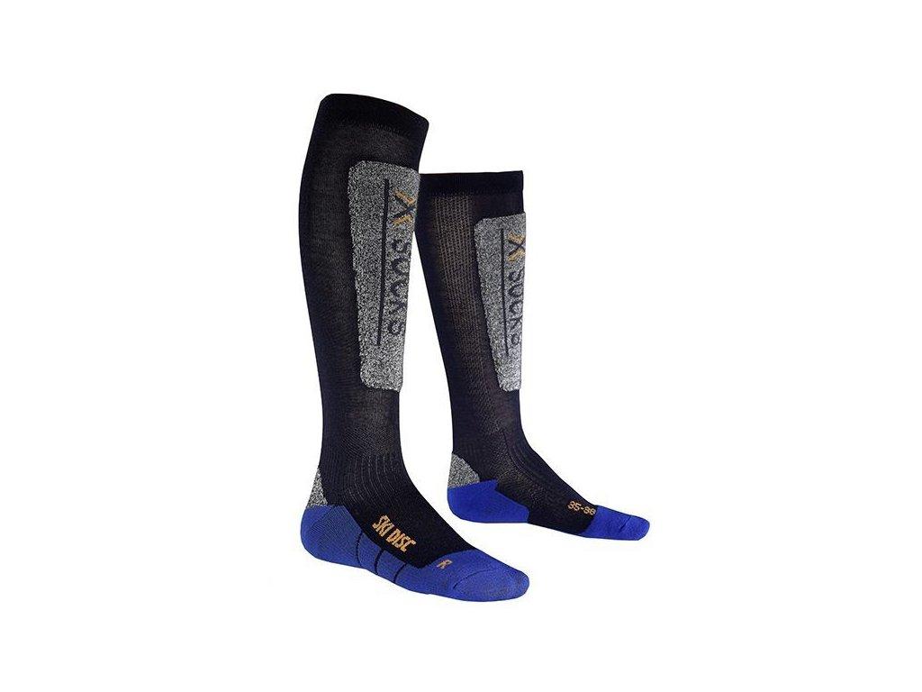 X-Bionic - ponožky T X-SOCKS SKI DISCOVERY JR blue cobalt