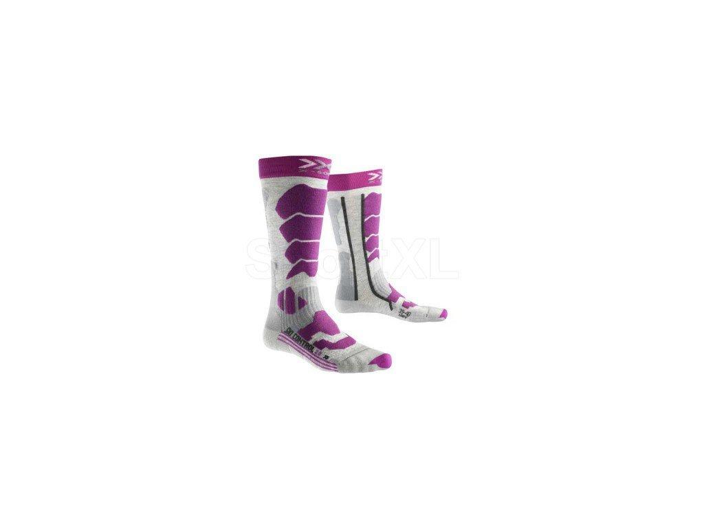 X-Bionic - ponožky T X-SOCKS SKI CONTROL 2.0 LADY white
