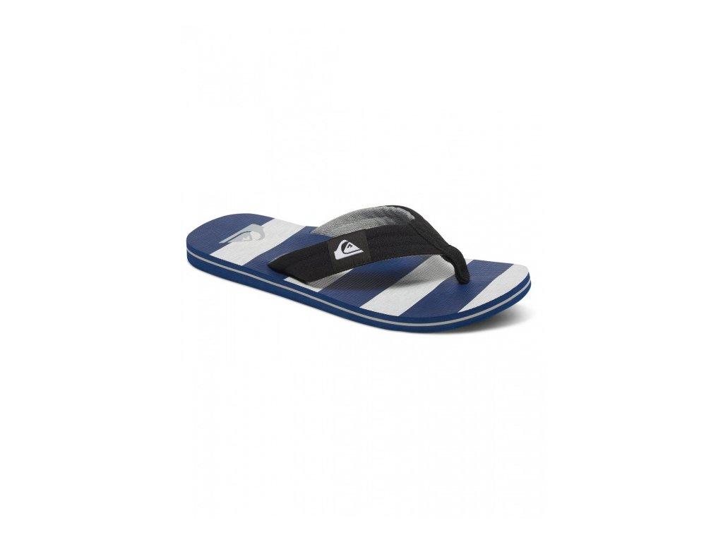 QUIKSILVER - obuv SW MOLOKAI LAYBACK YOUTH BLACK/GREY/BLUE