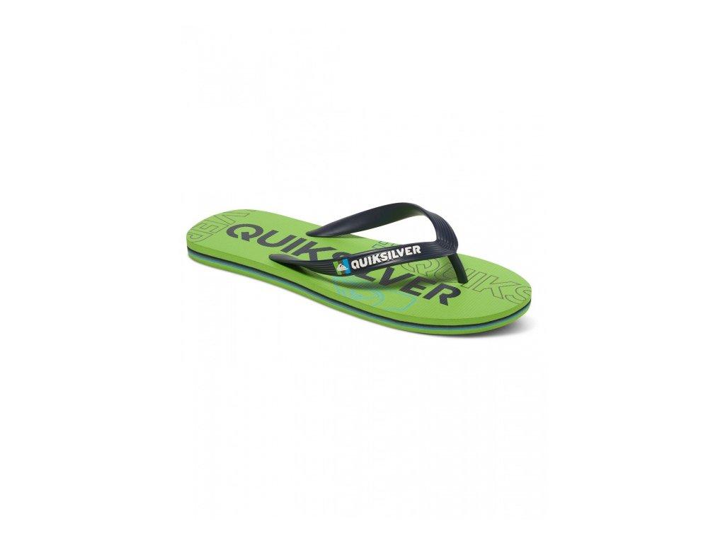 QUIKSILVER - obuv SW MOLOKAI NITRO GREEN/GREEN/BLACK