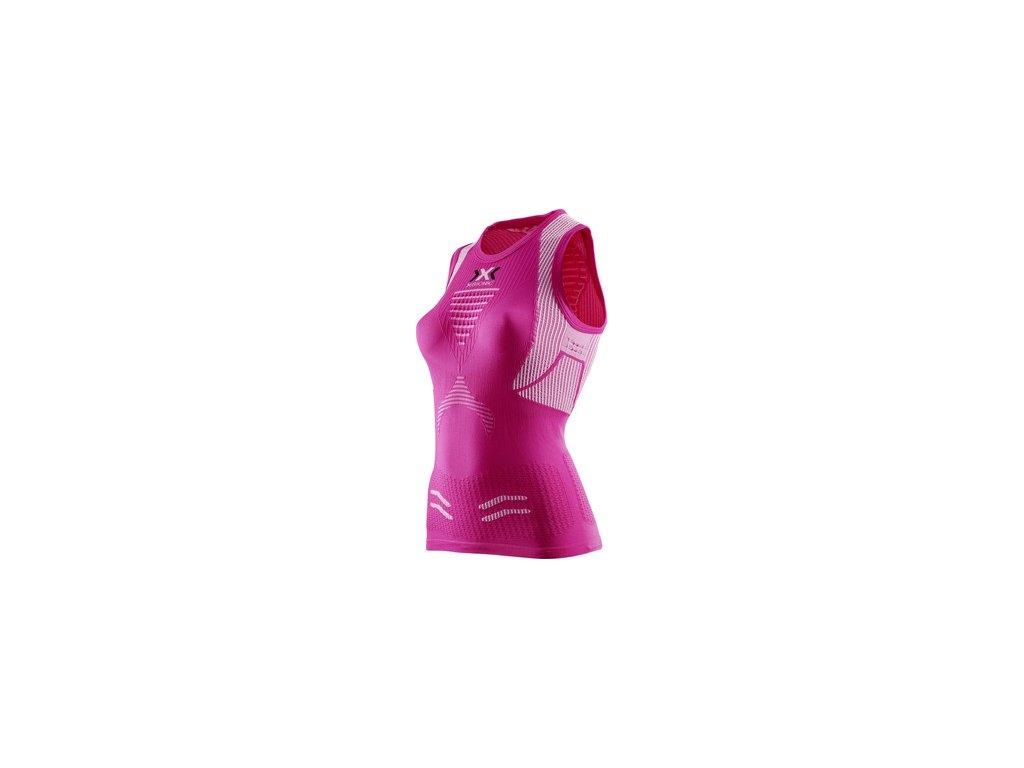 X-Bionic-tričko RUNNING LADY THE TRICK SINGLET pink