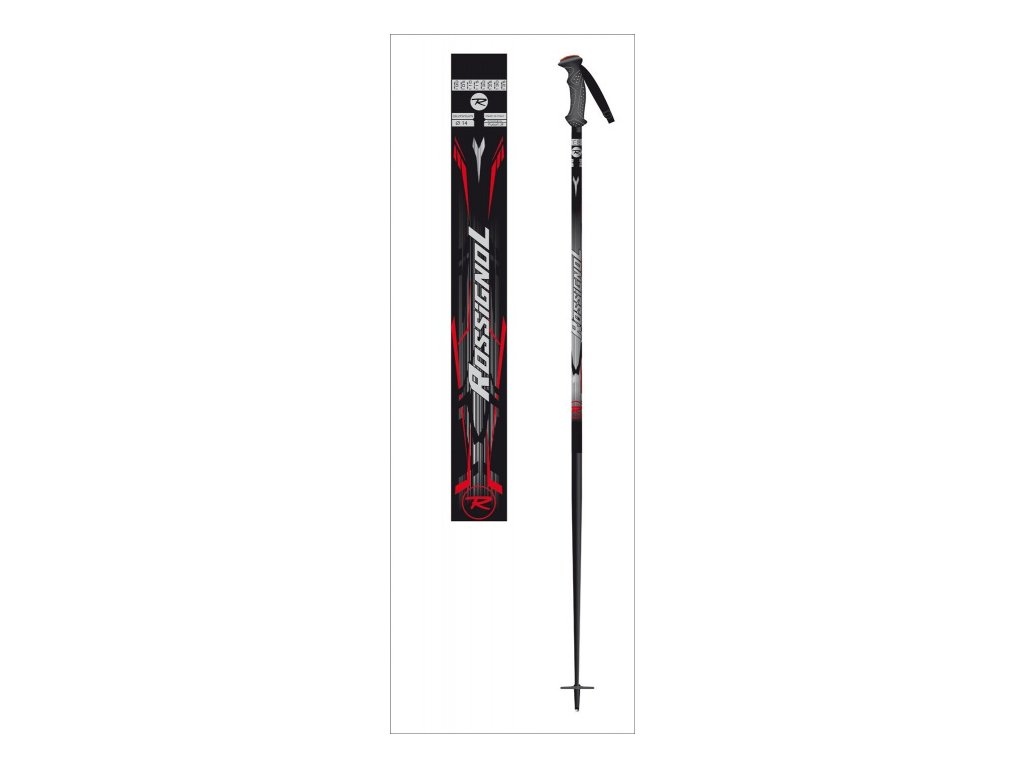 Rossignol lyž.palice PURSUIT JR black