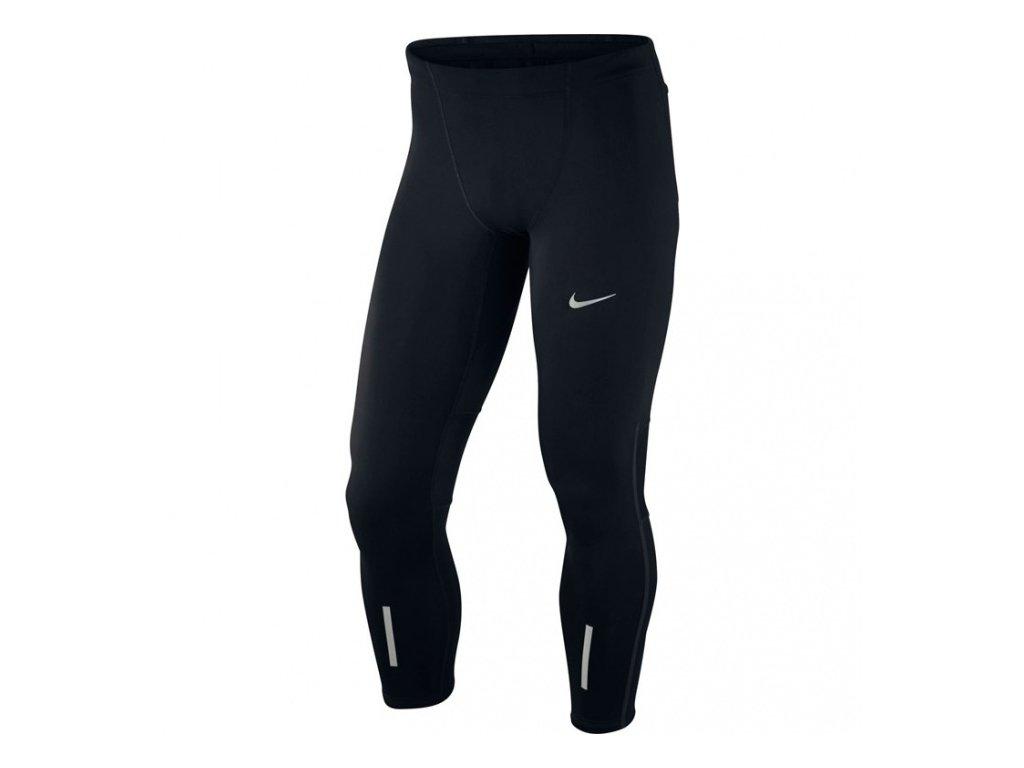 Nike - legíny  Power Tech Running Tight black