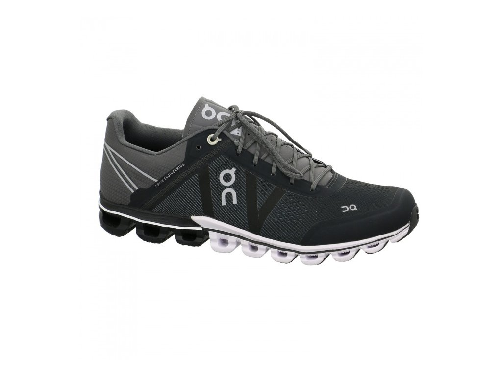 ON  - obuv CLOUDFLOW black/asphalt