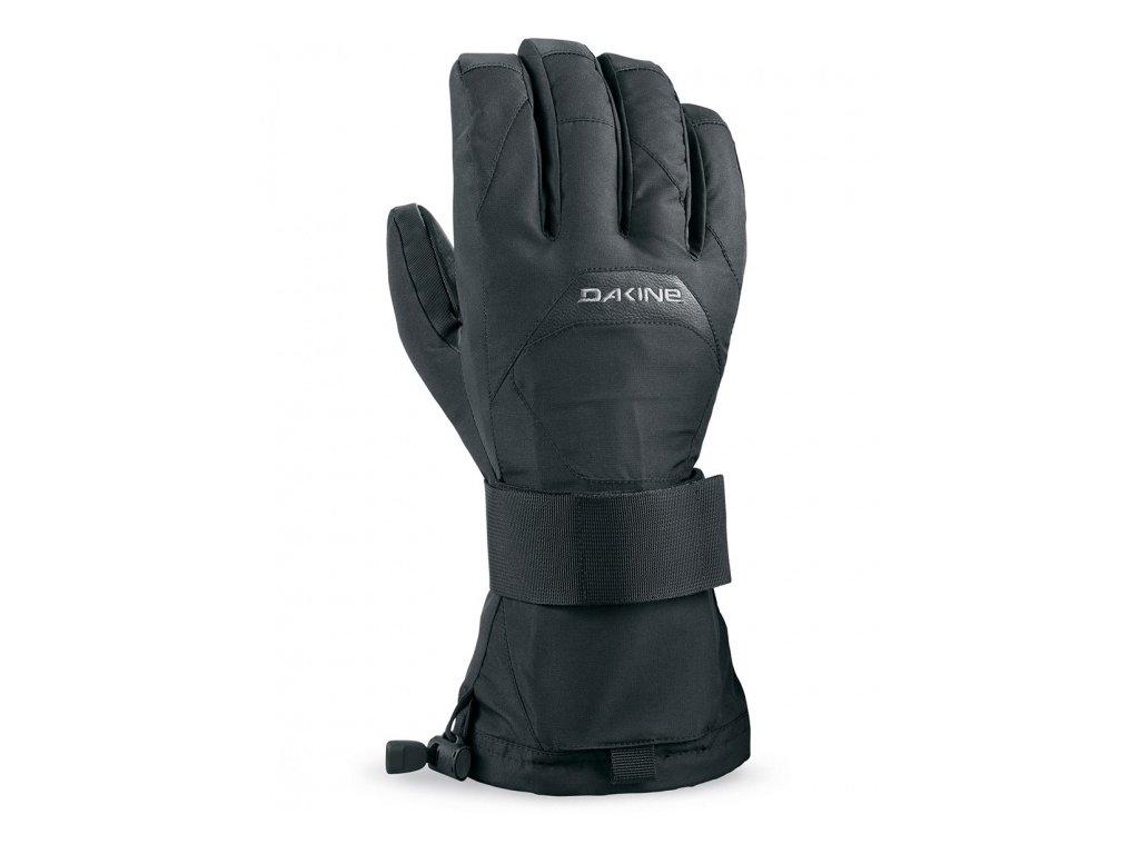 rukavice WRISTGUARD GLOVE čierna