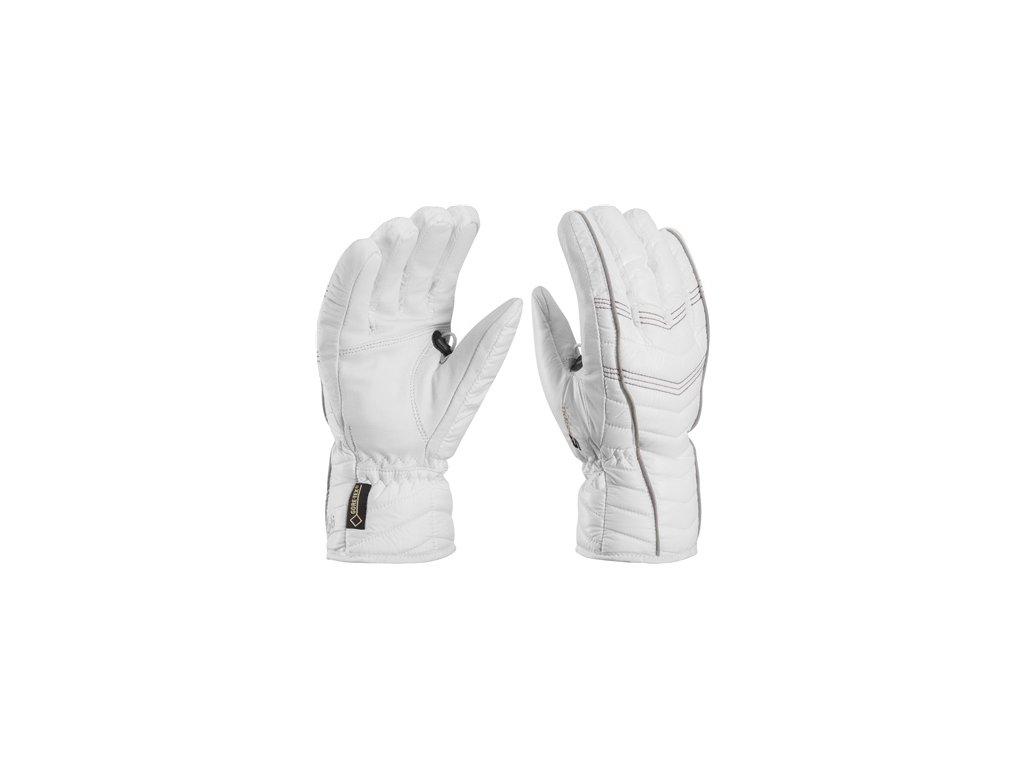 rukavice L Cortina S GTX * Leki biela/strieborná