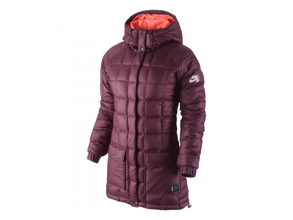 bunda Z NIKE 700 DOWN JACKET Red Violet