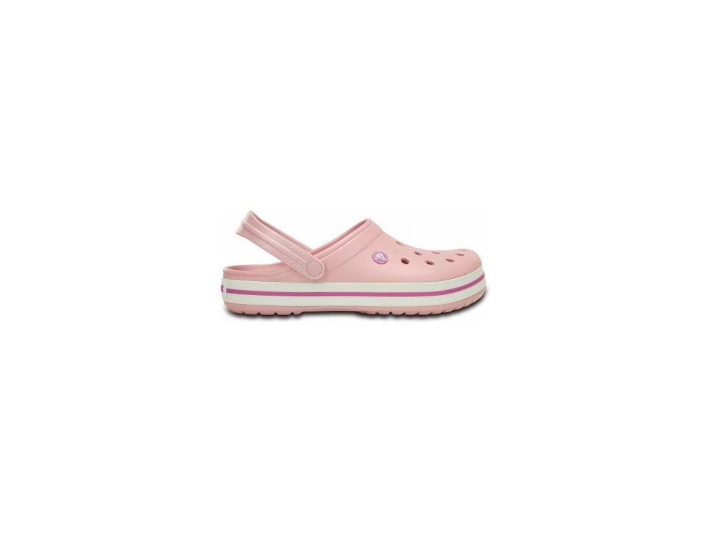 Crocs - šľapky CROCBAND Pearl Pink/Orchid
