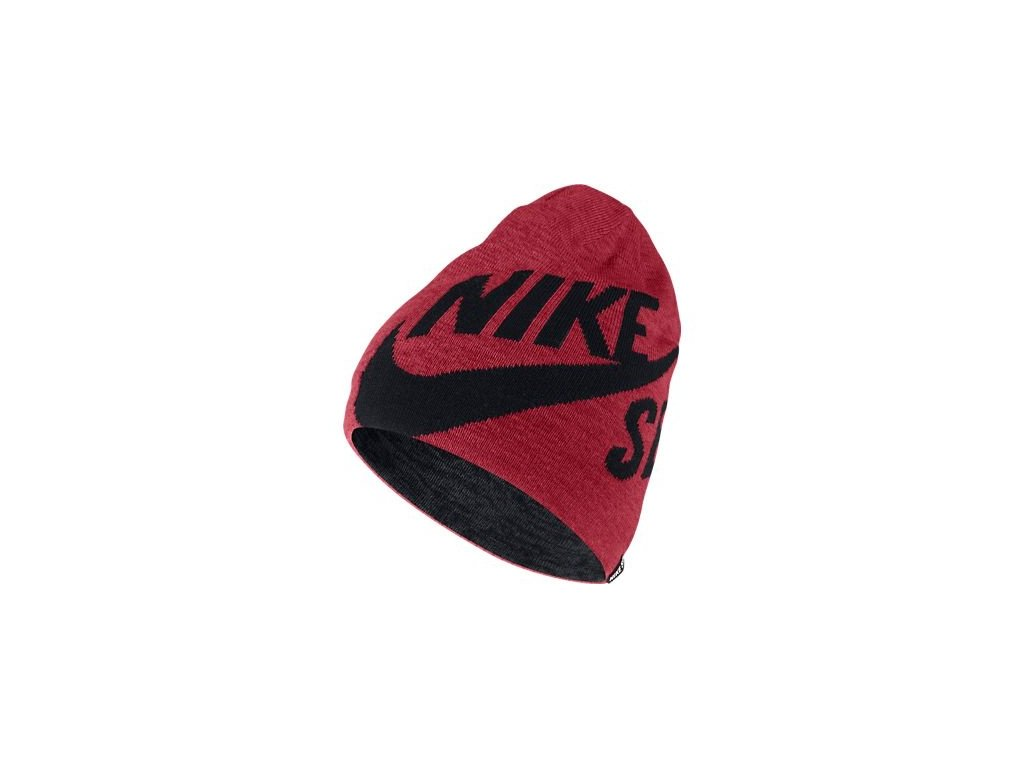 čiapka Nike SB WRAP BEANIE red