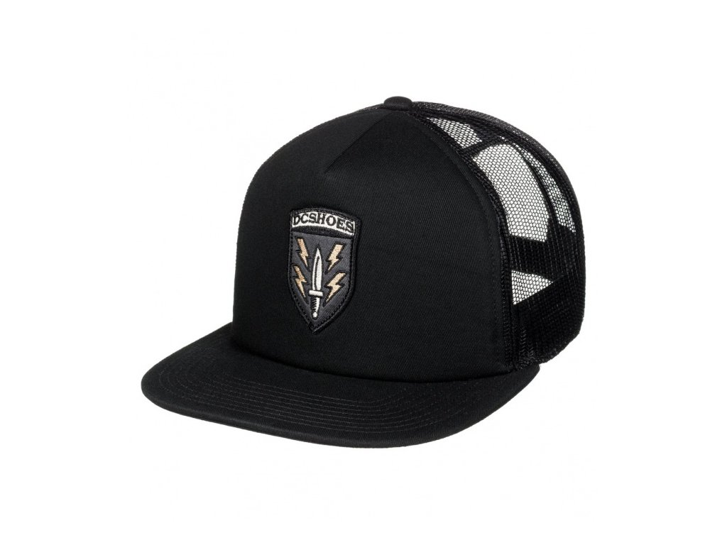 DC - šiltovka SURPLUS TRUCKER black