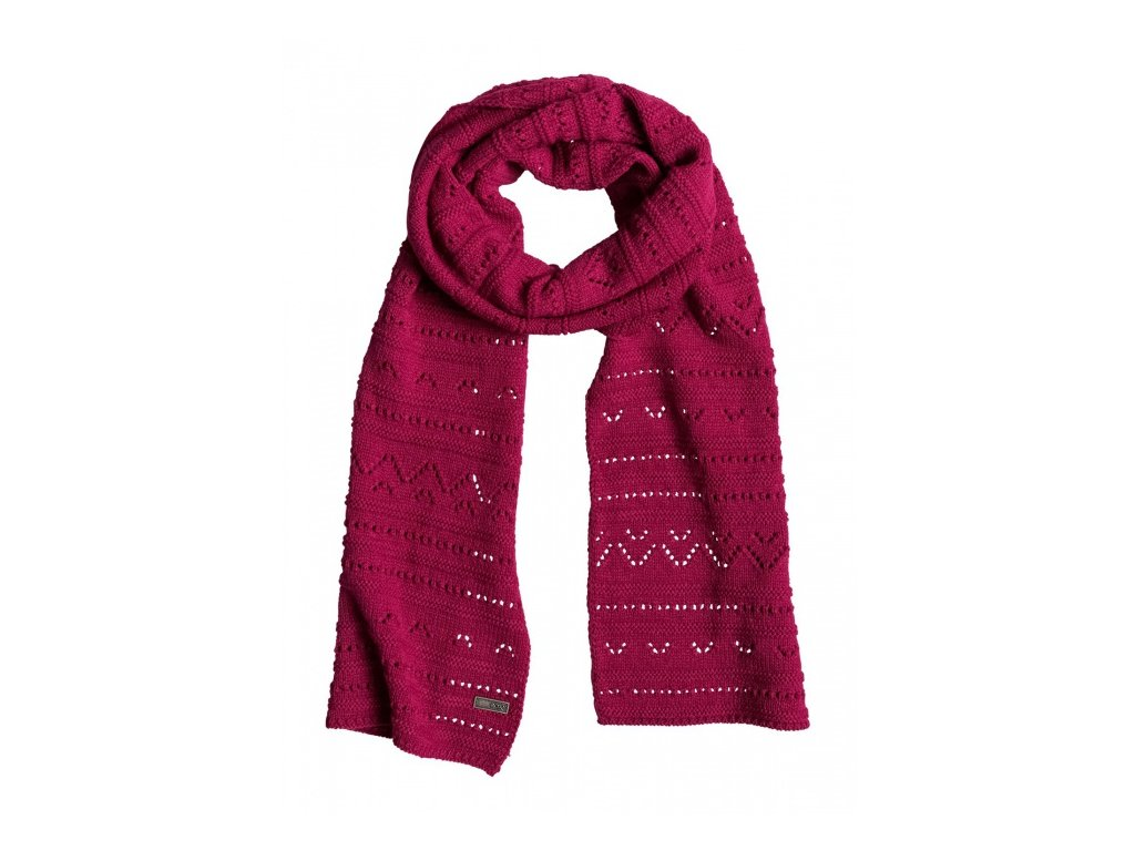ROXY - šál GIRL CHALLENGE SCARF persian red