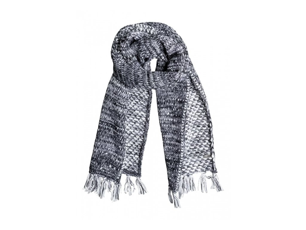 Roxy - šál THE SHOPPEUSE SCARF anthracite