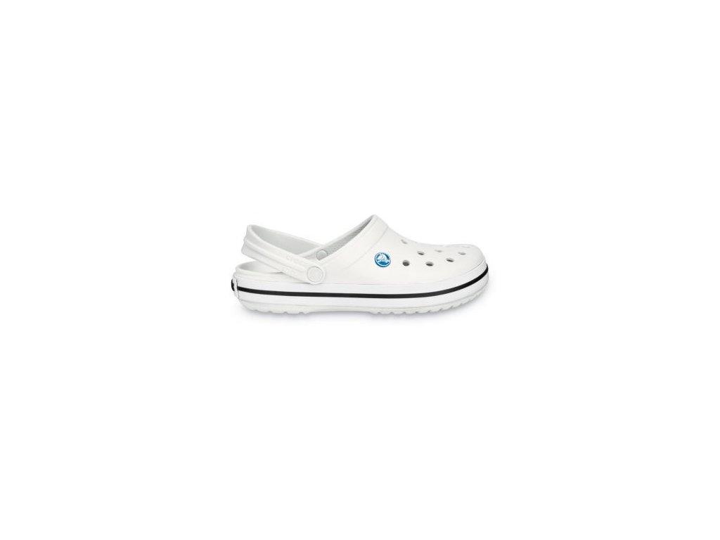 Crocs - šľapky CROCBAND White