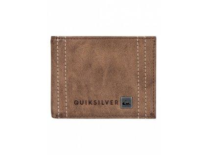 QUIKSILVER - peňaženka STITCHY WALLET bone brown