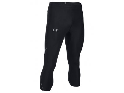 Under Armour - noh.3/4 RUN TRUE HEATGEAR CAPRI black