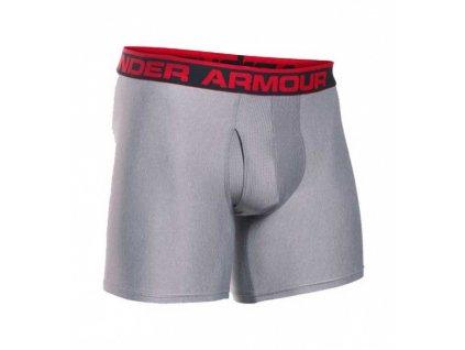 Under Armour - boxerky The Original 6\'\' BoxerJock true grey