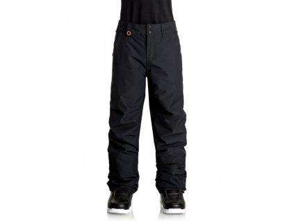 QUIKSILVER - nohavice OT ESTATE YOUTH PANT black