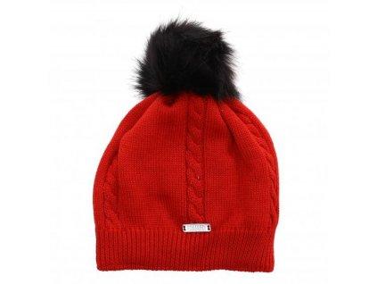 COLMAR - čiapka LADIES HAT red