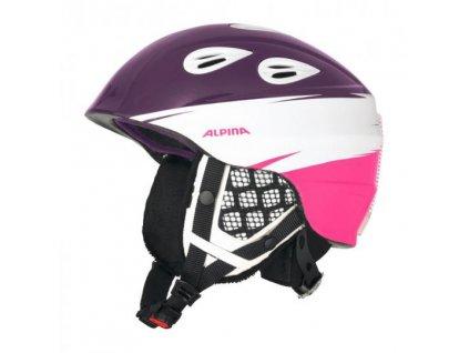 ALPINA - prilba GRAP 2.0 JR  violet-pink 17/18