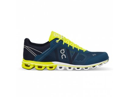 ON RUNNING - obuv RUN Cloudflow petrol/neon