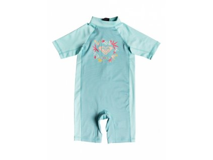 ROXY - overal SOUL MERMAIDS ONESIE SHORTY aquarelle