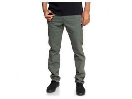 Quiksilver - nohavice KRANDY 5 POCKETS thyme