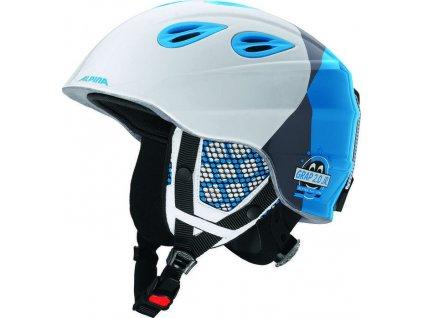 Alpina - prilba GRAP 2.0 JR blue white 54-57 17 18 dd993b165f7