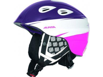 Alpina - prilba GRAP 2.0 JR purple pink 17 18 54-57 06c5978a84f