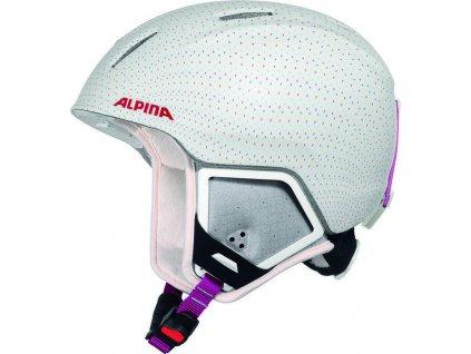ALPINA - prilba CARAT XT 311 - white - pola matt 16 17 54-58cm a0459f83a21
