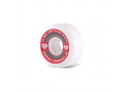 MOSAIC - kolieska 54MM 102A Heart Wheels Pack red