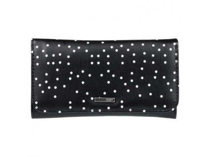ROXY - peňaženka MY LONG EYES true black dots