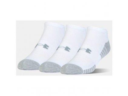 mens casual socks under armour heatgear tech no show 3pakk m 1312439 100[1]