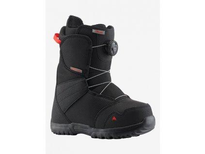 BURTON - obuv SNB ZIPLINE BOA 18/19 black