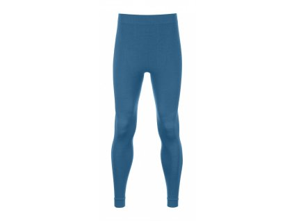 ORTOVOX - nohavice Merino Competition Long Pants blue sea